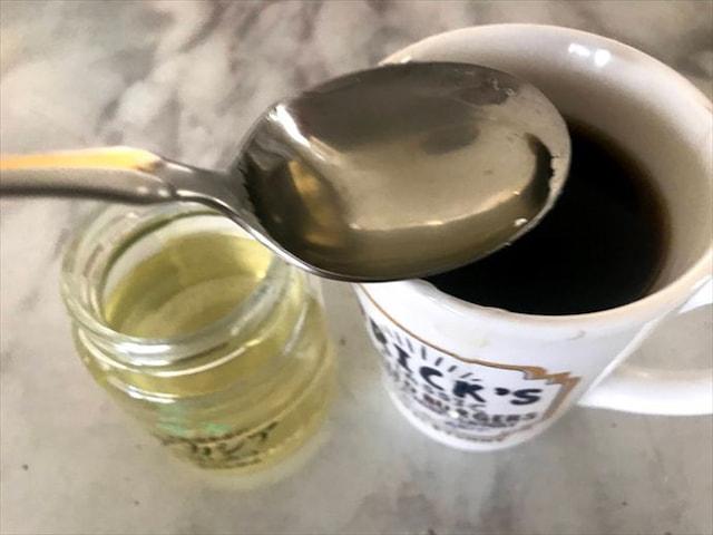 はちみつコーヒーを作ってみた